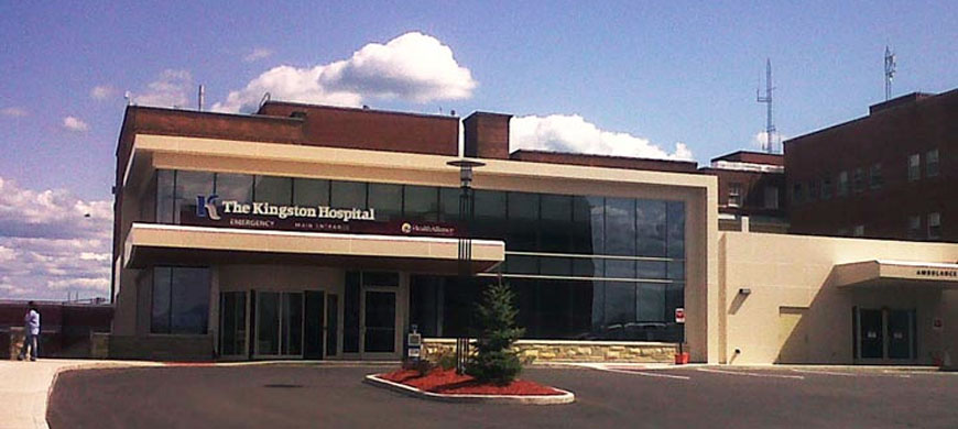Kingston hospital er additions renovations ashley mechanical inc kingston hospital emergency room entrance altavistaventures Choice Image